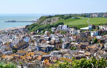Gateway to Destination Stade in Hastings