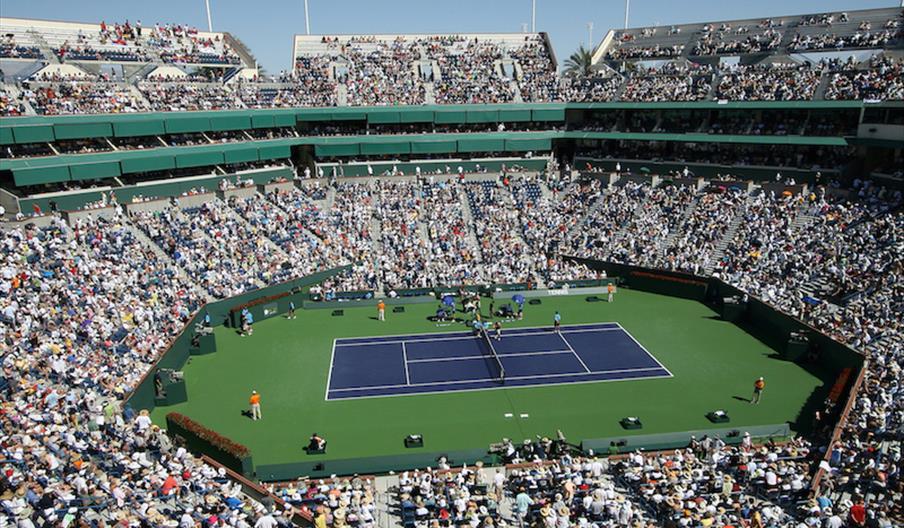 Major tennis tournament