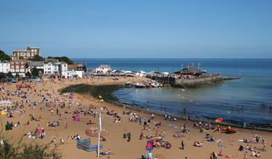 Broadstairs beach on Kent's east coast is one the 17 beaches audited as part of Thanet's Beach Management Plan.