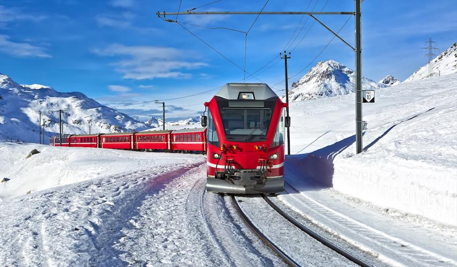 Train Travel in the European Alps