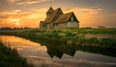 The evocative atmosphere of isolated churches on Romney Marsh in Kent, is one of the assets Shepway promotes in its Destination Management Plan