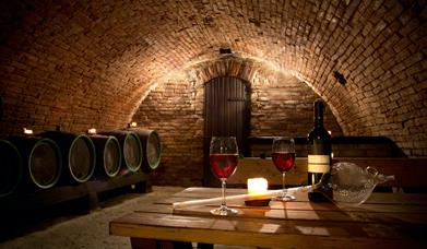 Wine tasting in Wine Cellars