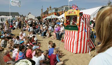 The Punch and Judy show at during the Old Leigh Regatta is part of Southend's DNA