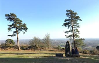 The National Trust's estate at Leith Hill is the highest point in Surrey is increasingly popular with cyclists and walkers and needed a Conservation M