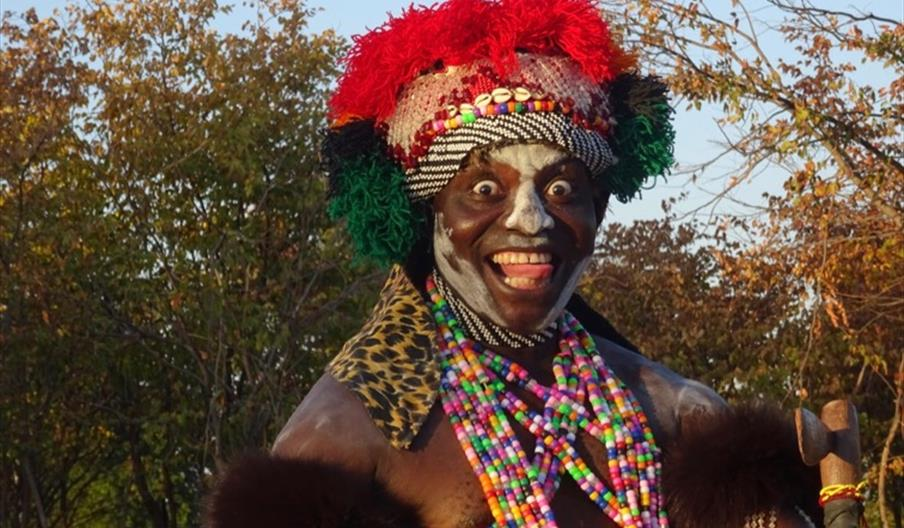 Meeting traditional cultural dancers in Zambia is a unique experience for European tourists