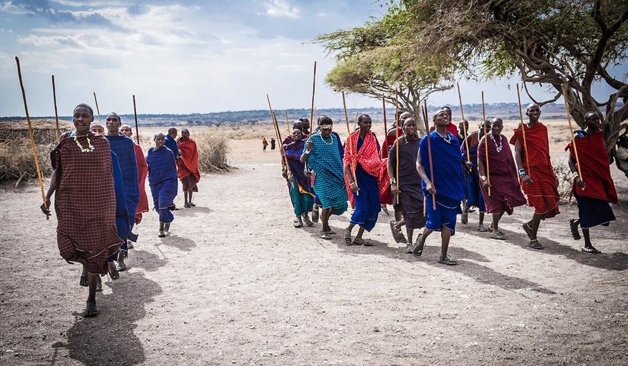Masai community in Africa