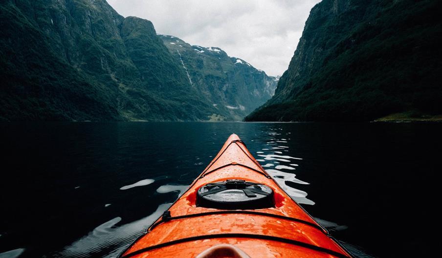 Adventure canoeing