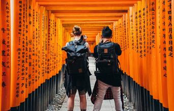 Backpacking in Asia