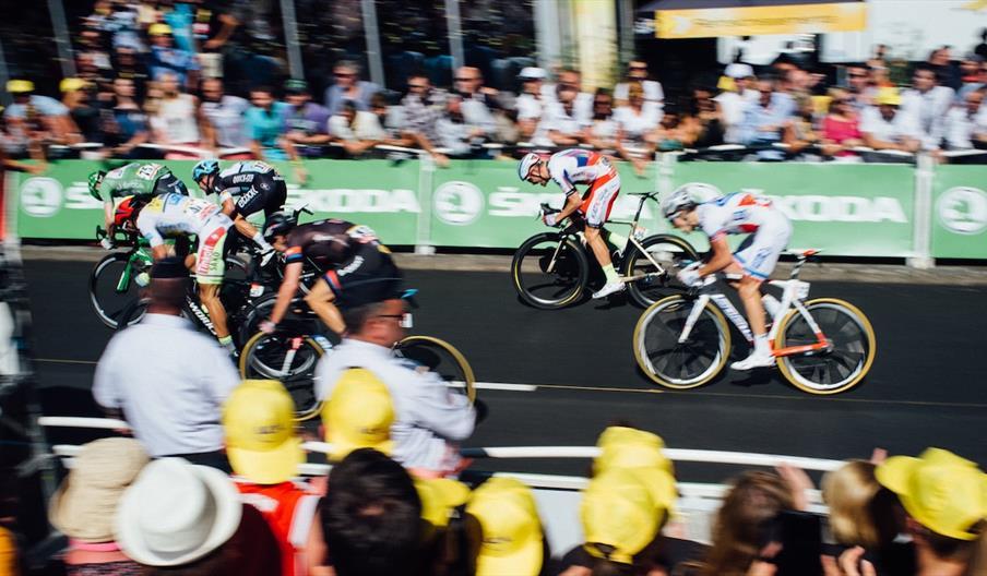 Watching the Tour de France
