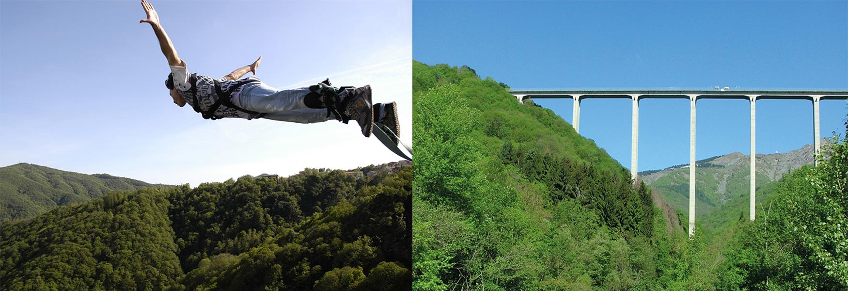 Bungee Jumping dal ponte Colossus