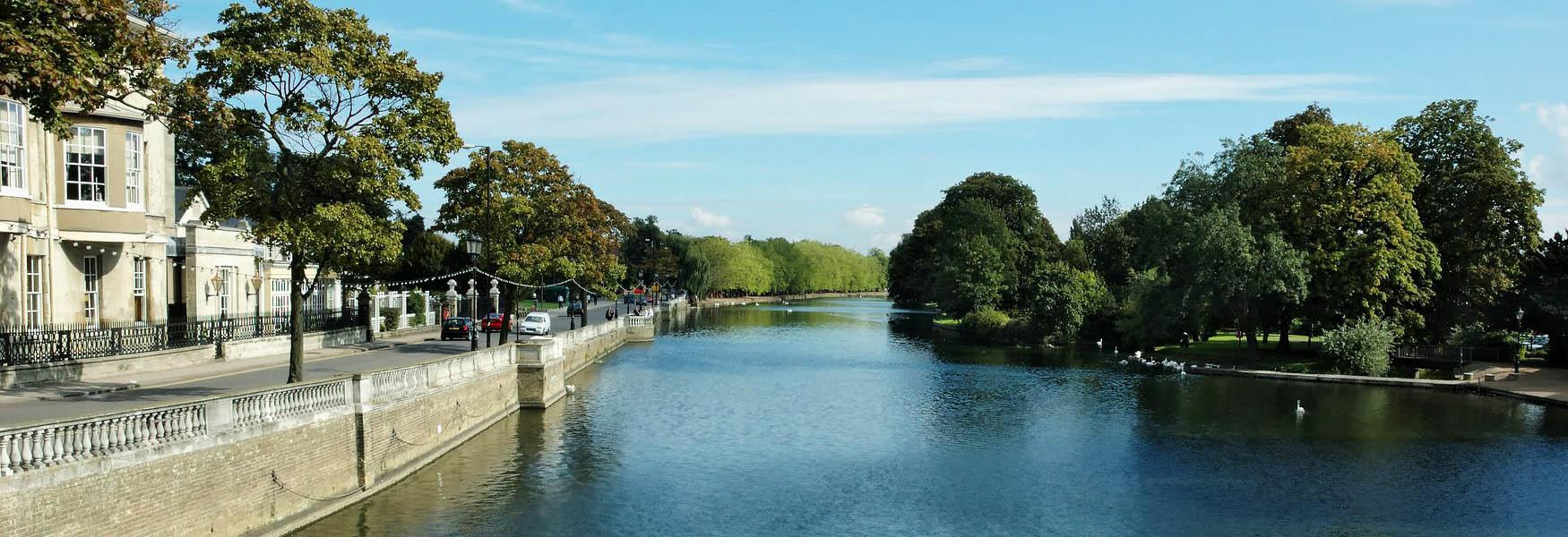 River Ouse in Bedford