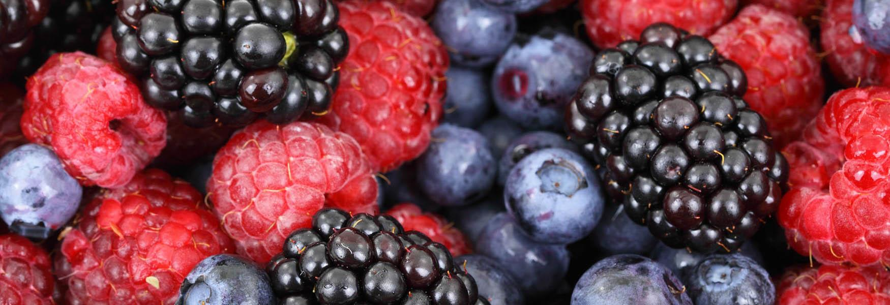 Locally produced fruit