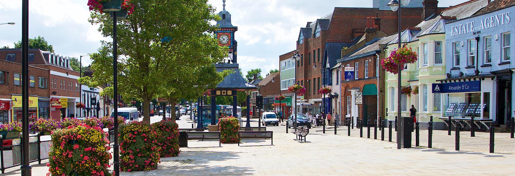 Dunstable Shops Market Square