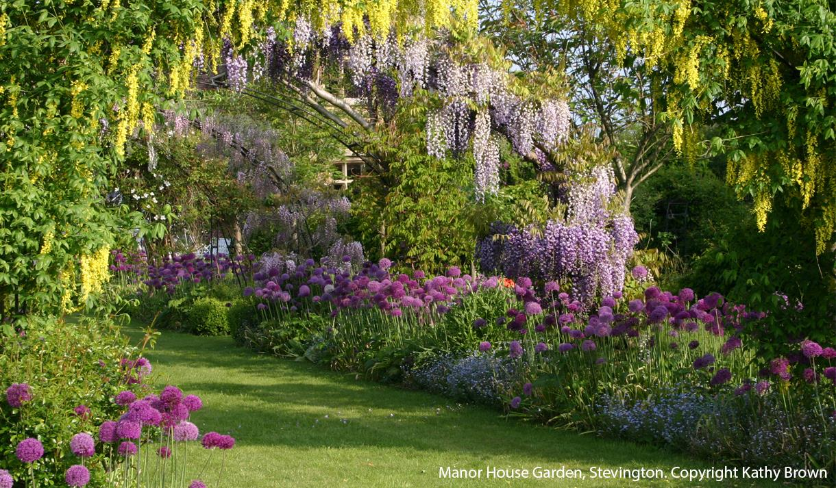 Kathy Brown's Garden at the Manor House