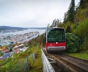 Attraksjoner i Bergen - Fløibanen
