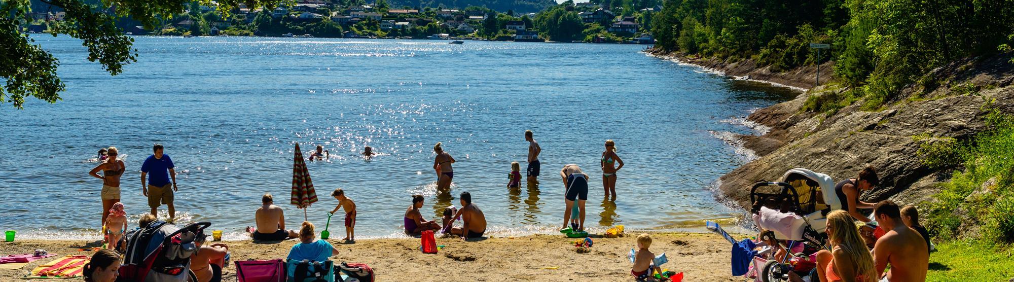 Beaches in Bergen