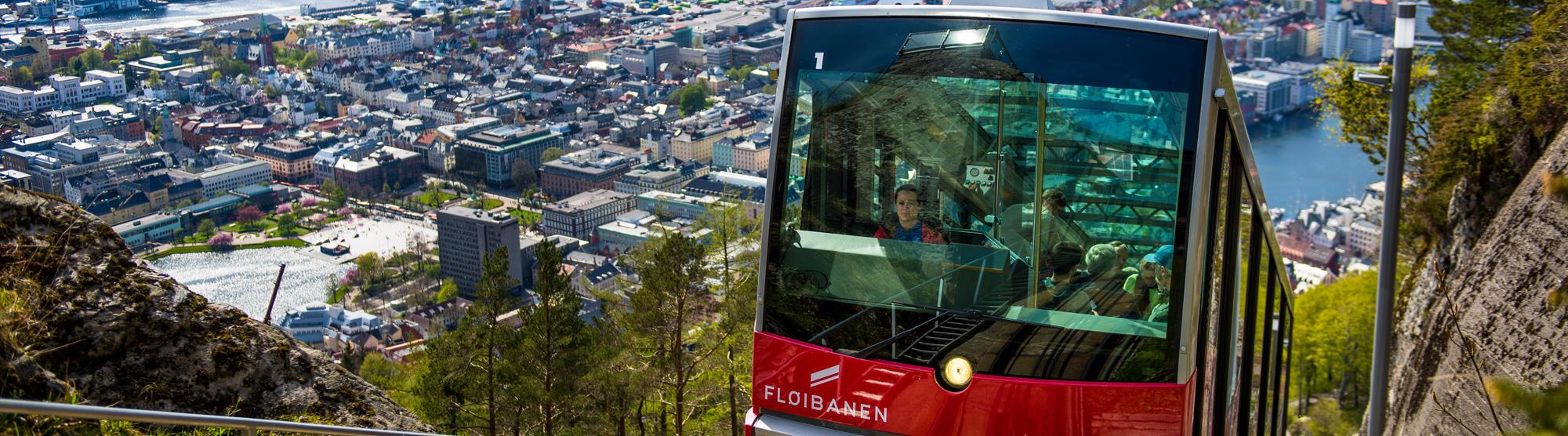 Attractions included in the Bergen Card