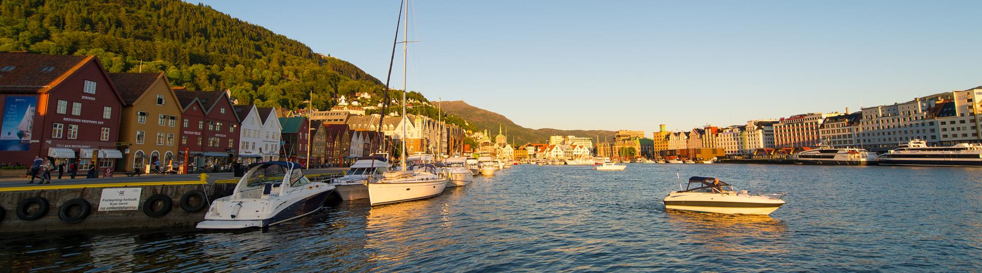 Free transport with Bergen Card