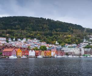 Travel from Kristiansand to Bergen