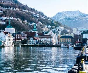 How to travel from Ålesund to Bergen
