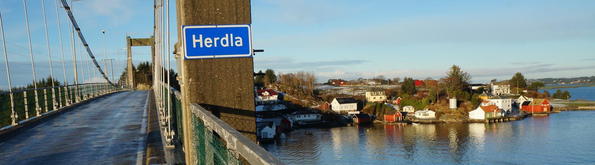 Road trip from Bergen to Herdla