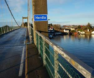 Road trip from Bergen to Herdla|