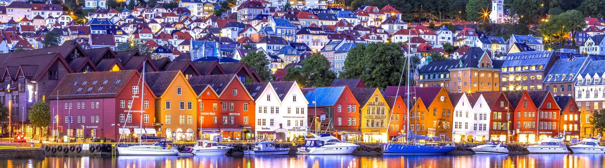 Wochenende in Bergen, Norwegen