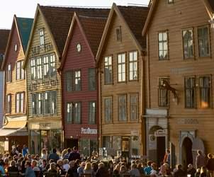 Durchblättern nach Bergen - World Heritage City