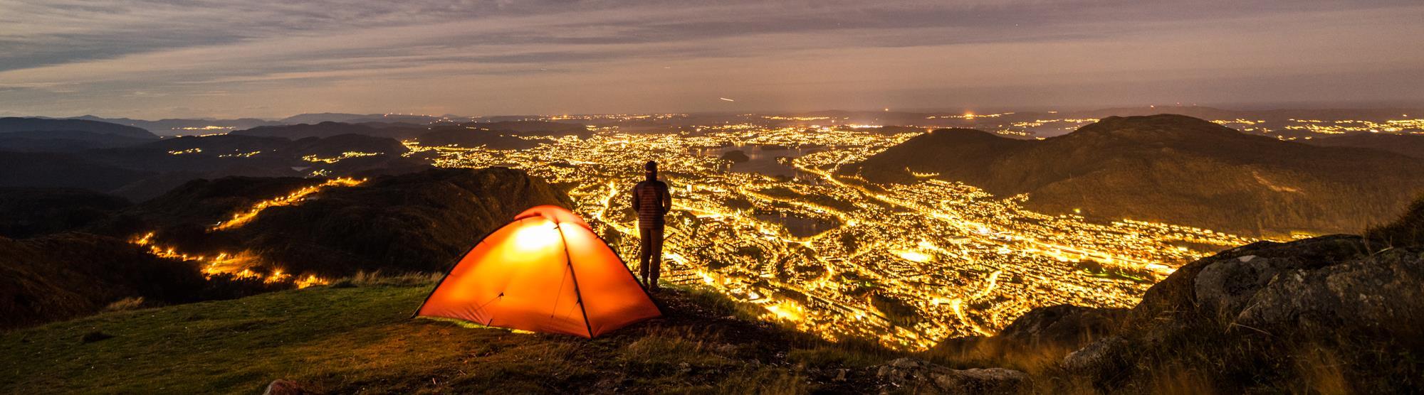 Campingplätze in Bergen, Norwegen