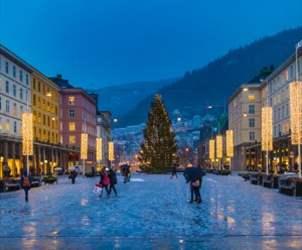 72 timer i julebyen Bergen