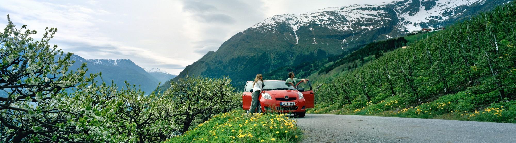 Die Fahrt von Stavanger nach Bergen