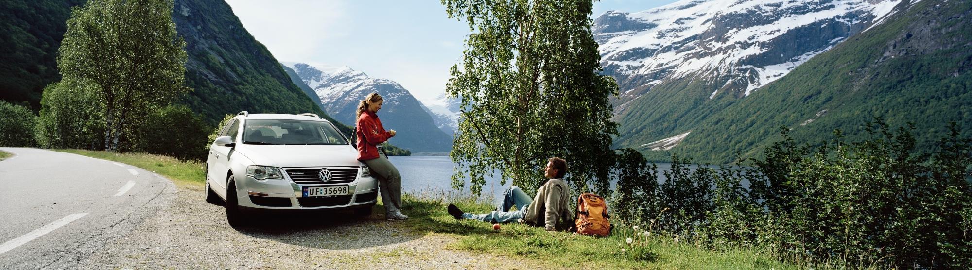 Die Fahrt von Ålesund nach Bergen