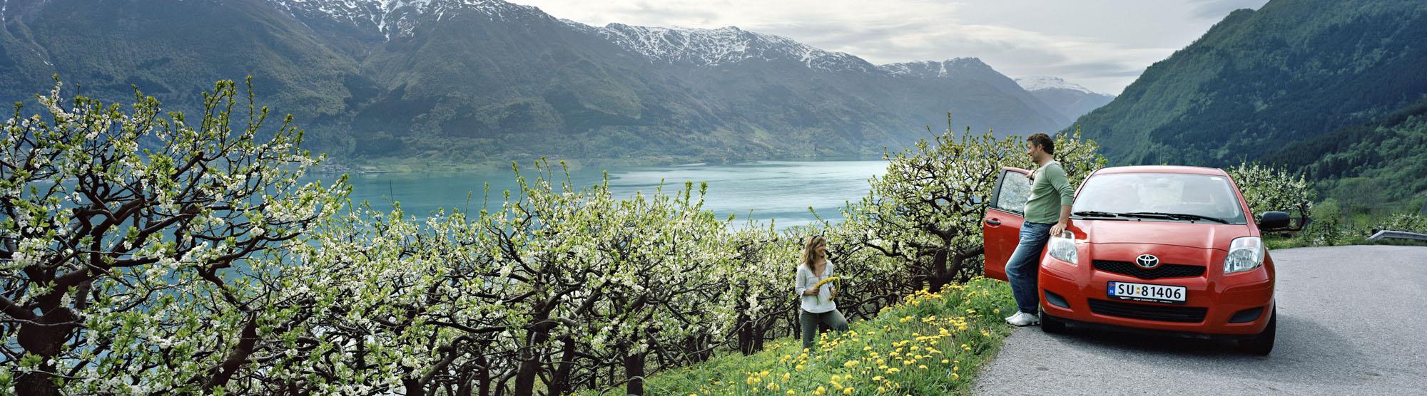 Driving to Bergen via Hardangervidda