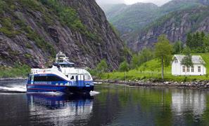 Durchblättern nach Fjordcruise Bergen - Mostraumen