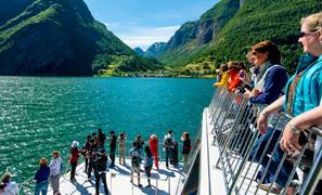 Durchblättern nach Geführter Fjordausflug zum Flåm und Stegastein