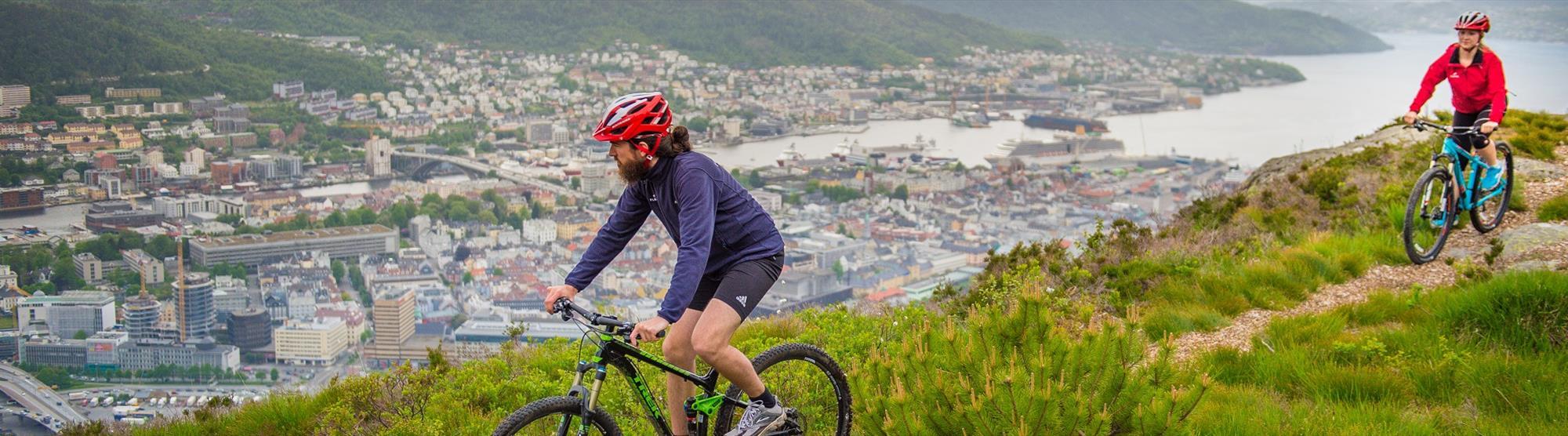 Cycling in Bergen