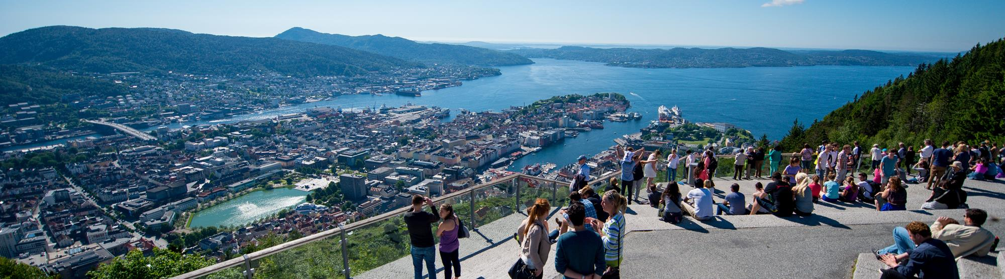 Top 10 places in Bergen for great photos