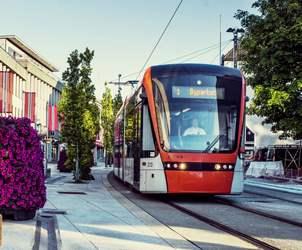 Durchblättern nach Transport Flesland - Bergen sentrum