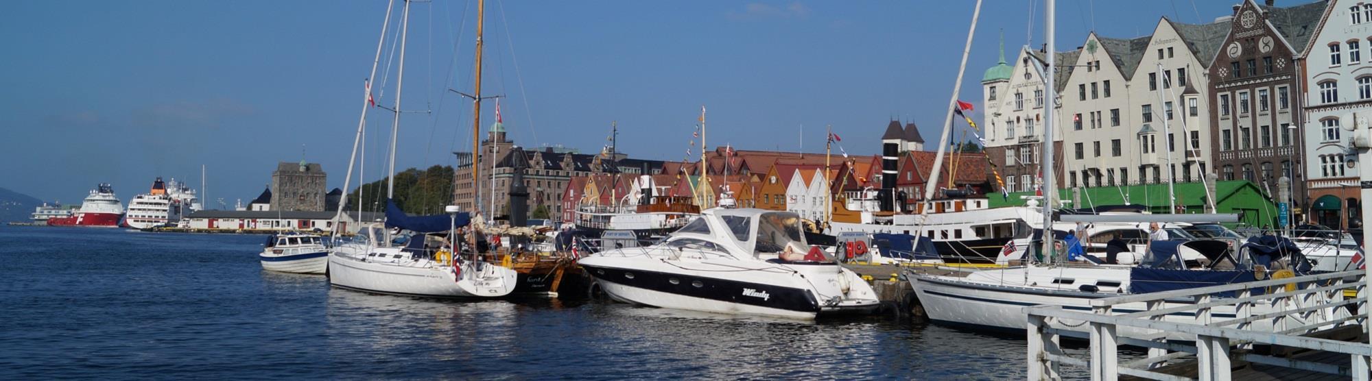 Gjestehavner i Bergen