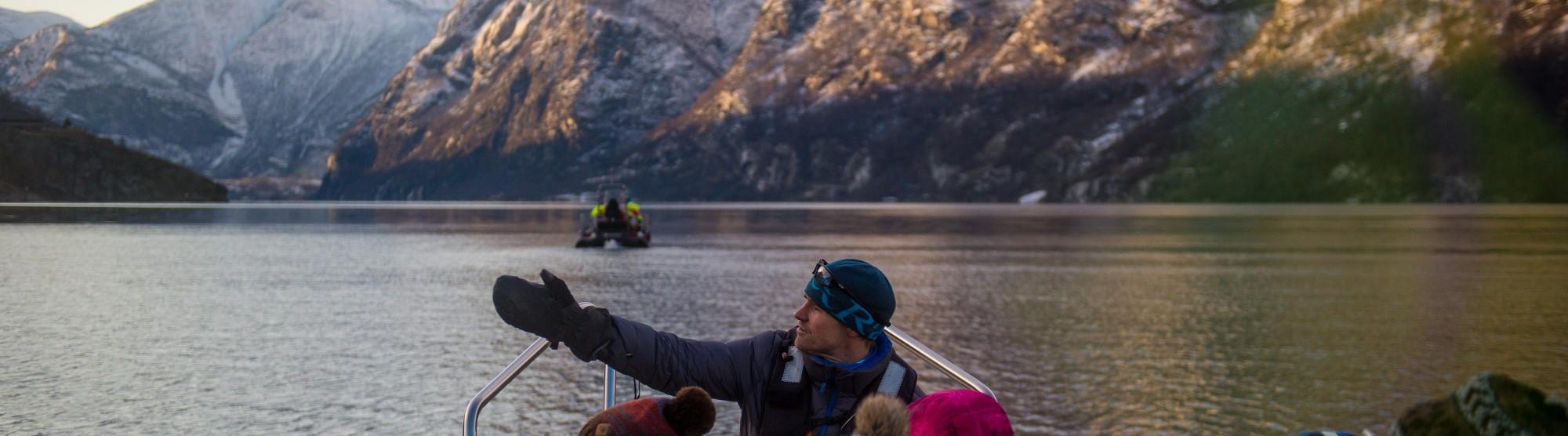 Fjordtur med guide