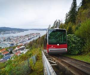Explore Bergen and the funicular