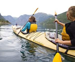 Thumbnail for Kayaking in the Norwegian fjords