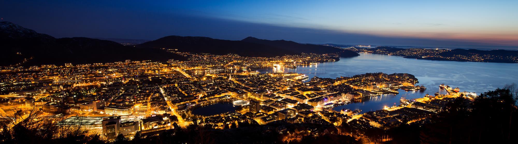 Utelivet i Bergen