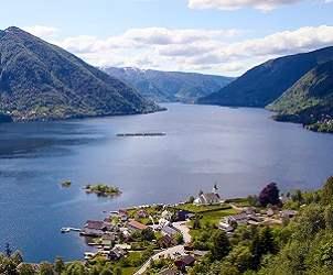 Durchblättern nach Osterøy – eine Reise zwischen Fjord und Fjell