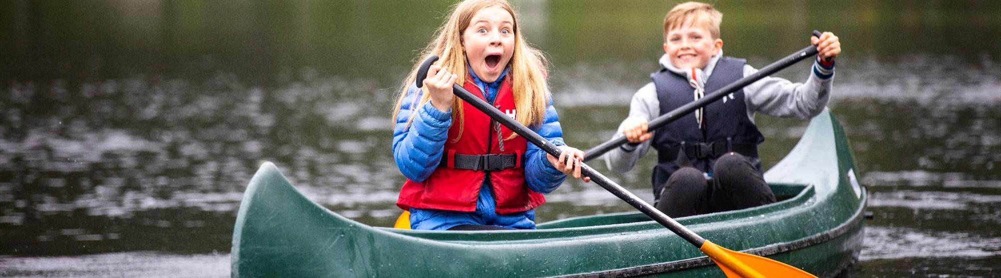 Norgesferie med barn i Bergensregionen