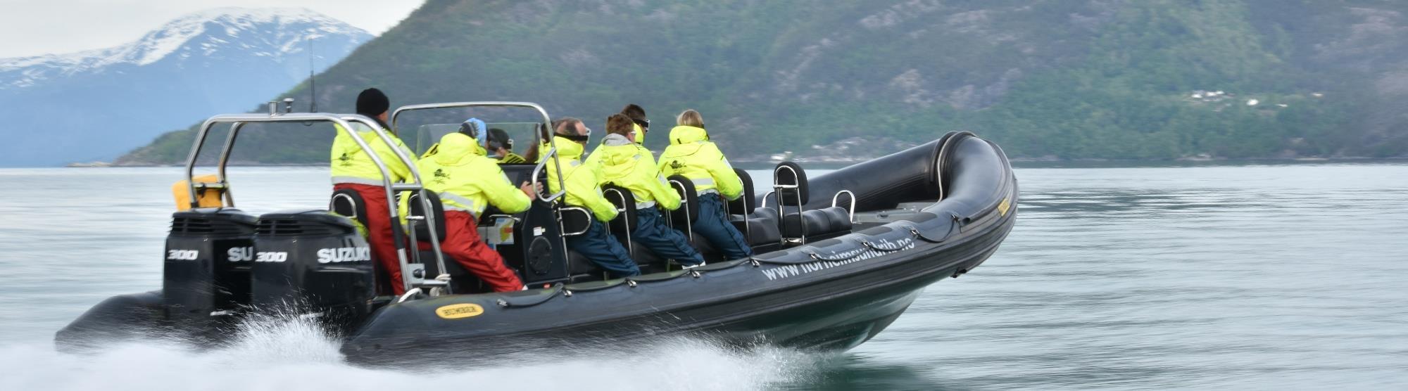 Norgesferie ungdom - Norheimsund RIB Seafari