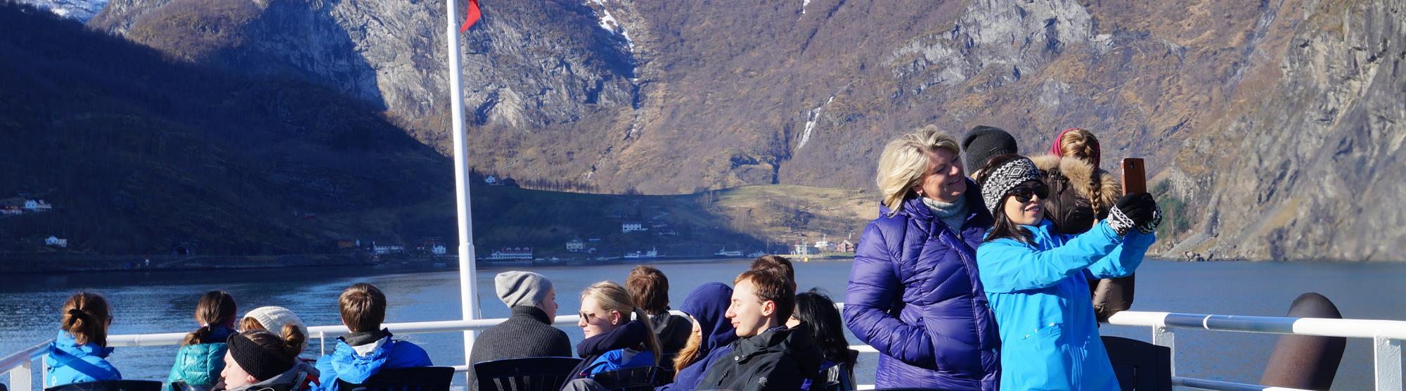Norwegian fjords weather