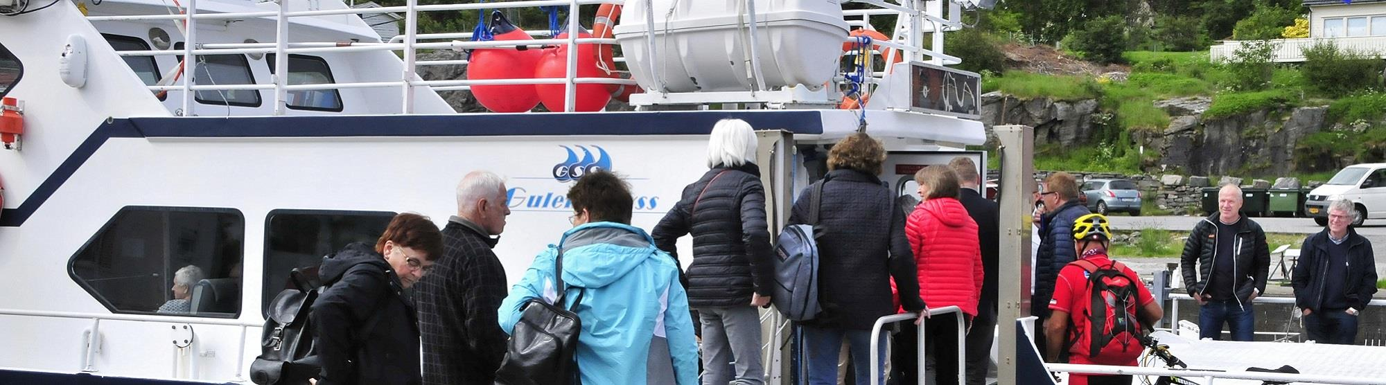 Bootsfahrt Bergen-Fedje