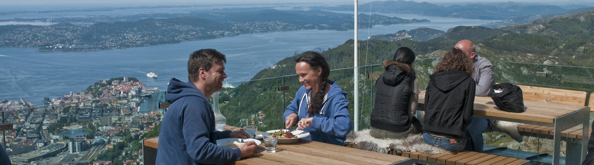 Romantisk helg i Bergen