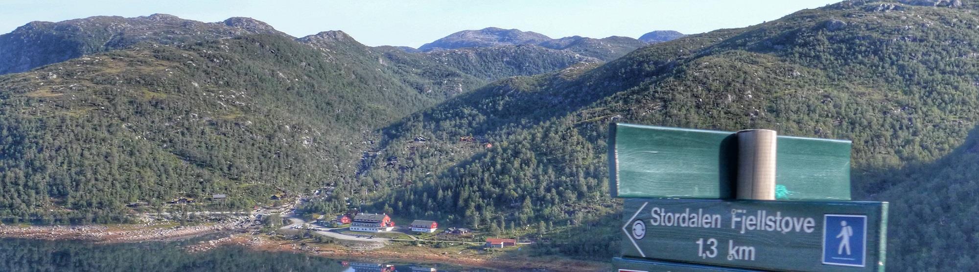 Des Fjord Abseits der Touristenpfade